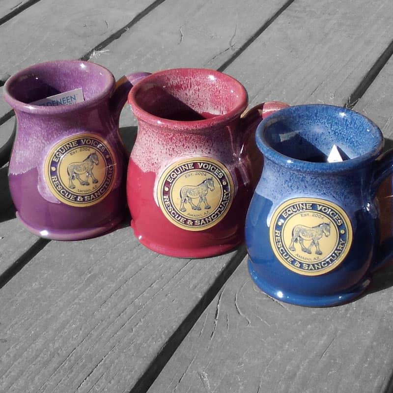 Handmade mugs with Gulliver logo